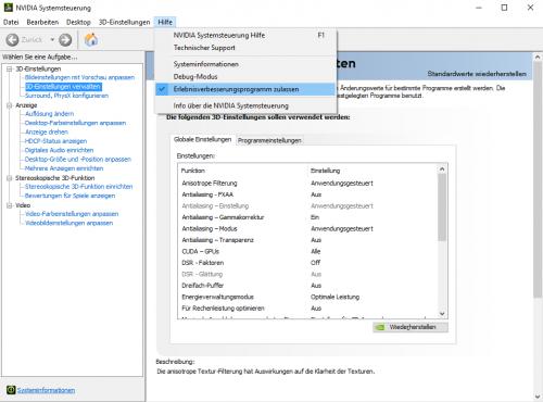 Nvidia: GeForce-Treiber 381.65 sammelt Telemetriedaten