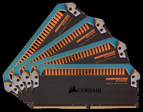 Corsair Dominator Platinum Spezial-Torque-Edition: DDR4-RAM für den Hot Rod