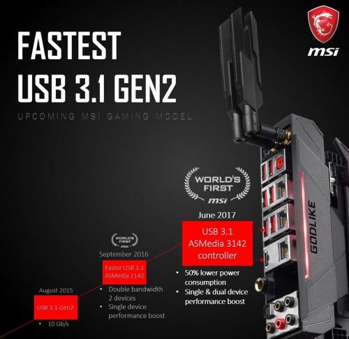 Bild: MSI teasert erstes X299-Mainboard mit ASMedia-3142-Controller