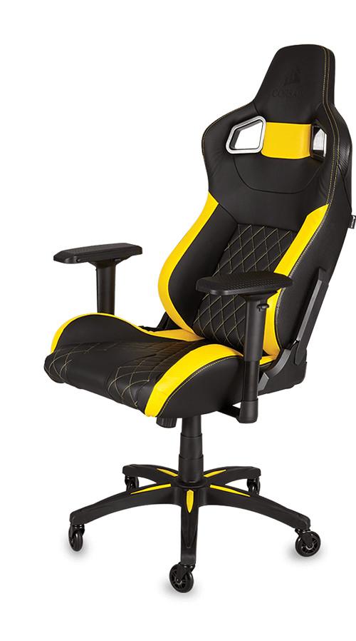 Bild: T1 Race: Erster Gaming-Stuhl von Corsair