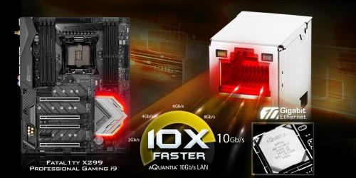 ASRock Fatal1ty X299 Professional Gaming i9 mit Sockel LGA 2066