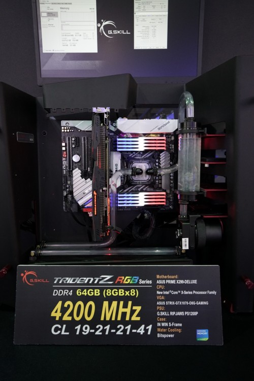 Bild: G.SKILL: DDR4-RAM mit bis zu 4800 MHz vorgestellt