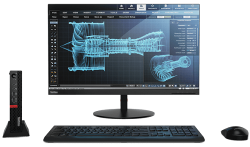 Lenovo ThinkStation P320 Tiny: Der Kraftprotz unter den Kompakt-PCs