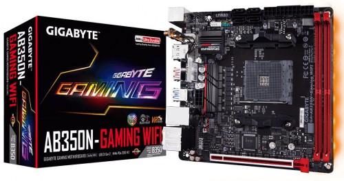 Bild: Gigabyte AB350N-Gaming WiFi: Mini-ITX-Mainboard mit AM4-Sockel