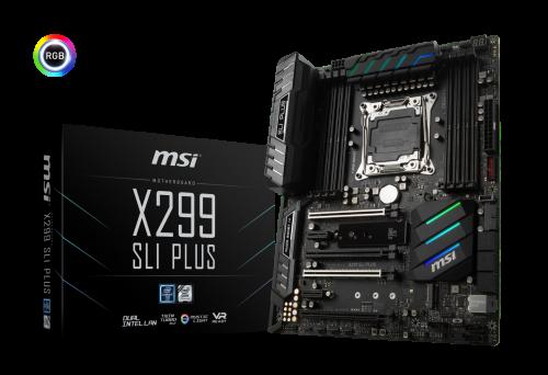 MSI stellt X299-Mainboards für Intels Core-X-Prozessoren vor