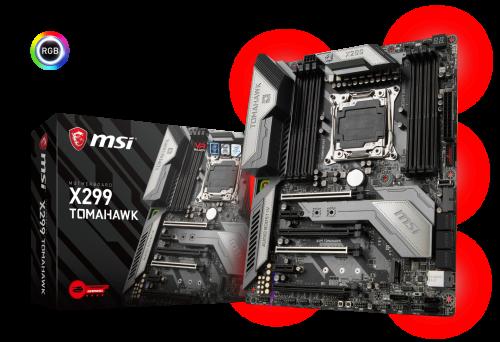 Bild: MSI stellt X299-Mainboards für Intels Core-X-Prozessoren vor