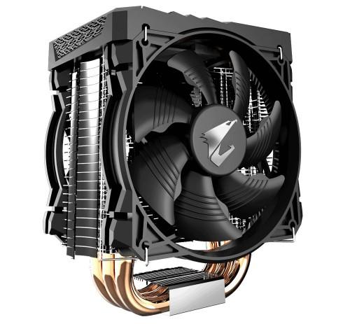 Bild: Gigabyte Aorus ATC 700: Tower-CPU-Kühler mit RGB-LEDs