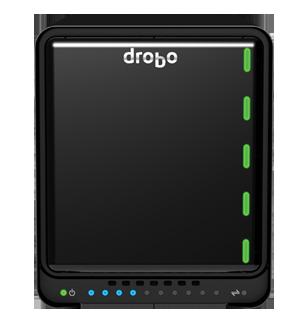 Drobo 5D3: schnelles Kreativ-DAS mit Thunderbolt-3-Technologie