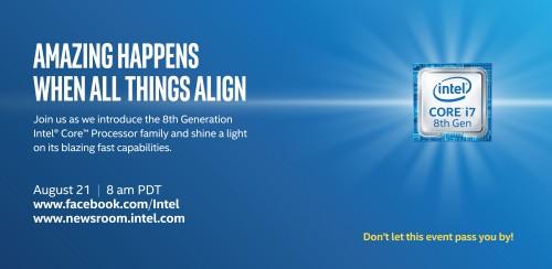 Achte Core-i-Generation von Intel: Vorstellungs-Termin bekannt gegeben