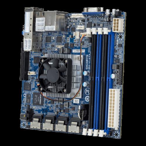 Gigabyte präsentiert Mainboard mit neuer Denverton-CPU