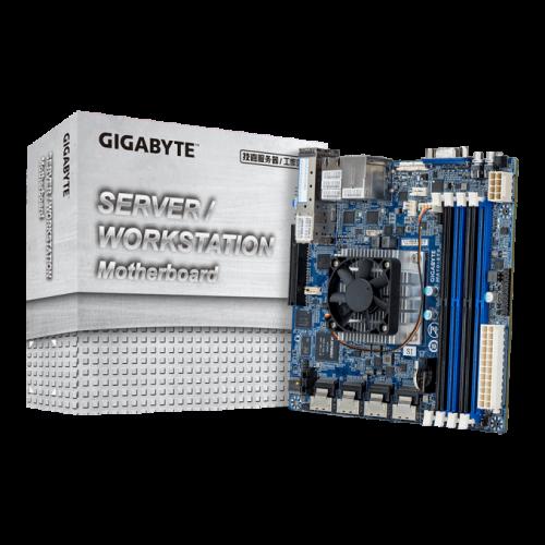 Bild: Gigabyte präsentiert Mainboard mit neuer Denverton-CPU