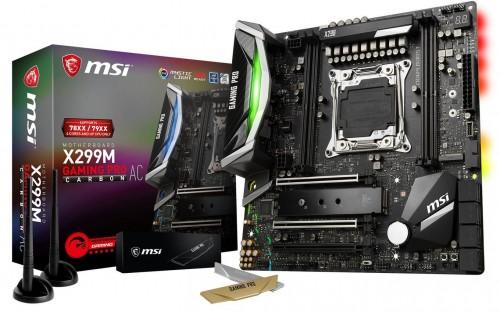 Bild: MSI stellt X299M Gaming Pro Carbon AC vor