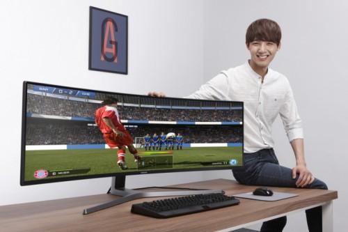 Samsung CHG90: Gekrümmter 4K-Monitor mit 49 Zoll und 144 Hz in 32:9