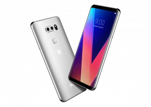 LG V30: High-End-Smartphone mit OLED-Display