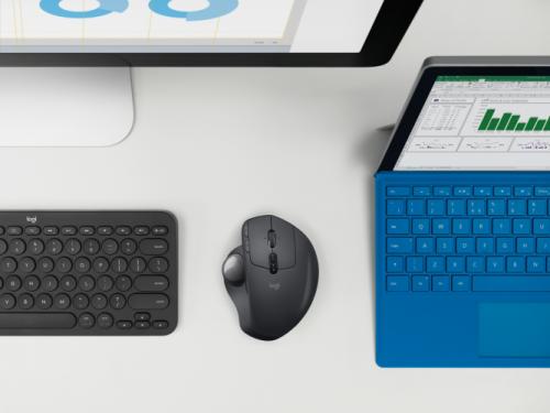 Logitech MX Ergo: Neue Maus mit Trackball-Steuerung