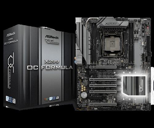ASRock stellt X299 OC Formula mit Unterstützung von DDR4-RAM mit 4600 MHz vor