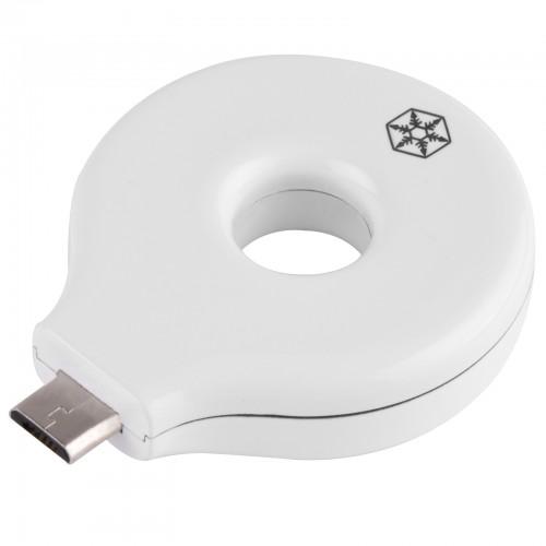 Bild: SilverStone QIR1-M: Wireless-Charging-Receiver für MicroUSB