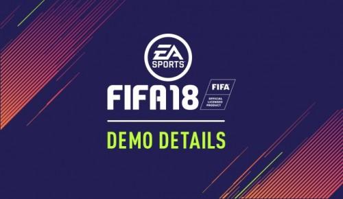 FIFA 18: Demo steht ab heute zum Download bereit