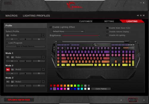 Bild: G.SKILL GDS v2.0: Neue Software für KM780 RGB und KM570 RGB