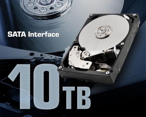 Toshiba 10 TB Enterprise-Capacity HDD mit SATA-Anschluss vorgestellt