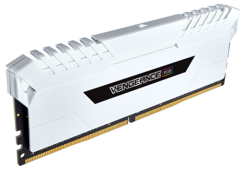 Corsair stellt VENGEANCE RGB White DDR4-Kits vor