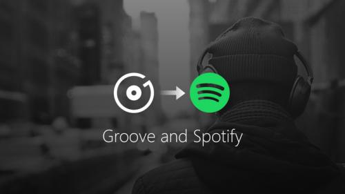 Microsoft gibt Groove als Streaming-Dienst auf und empfiehlt Spotify