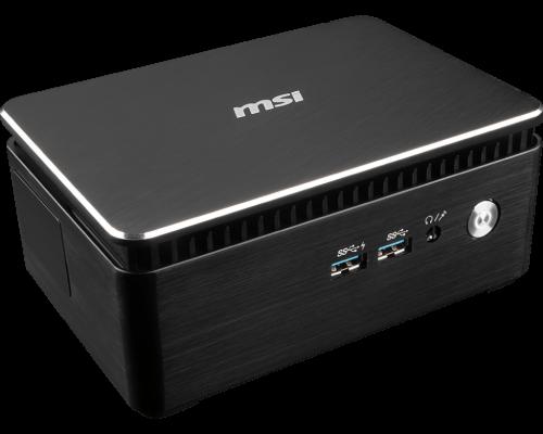 MSI Cubi 3 Silent: SFF-PCs ohne Lüfter mit Kaby-Lake-CPUs
