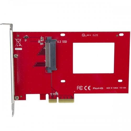 U.2-zu-PCIe-Adapter für NVMe-U.2-SSDs