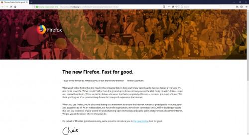 """Firefox: Version 57 das """"größte Update aller Zeiten"""""""