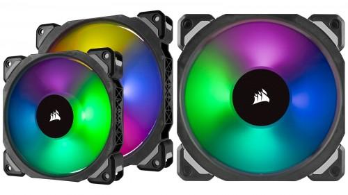 Corsair ML PRO RGB: Neue Lüfterserie mit Magnetschwebetechnik