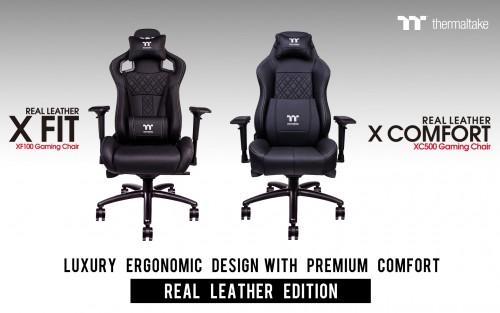 Bild: Tt eSPORTS kündigt Gaming-Stühle mit Echtleder an