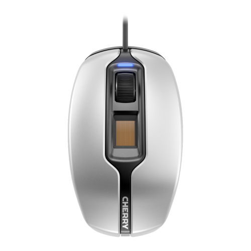Cherry MC 4900: Maus mit Fingerabdrucksensor