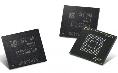 Samsung stellt 512-GB-Chips für Smartphones vor