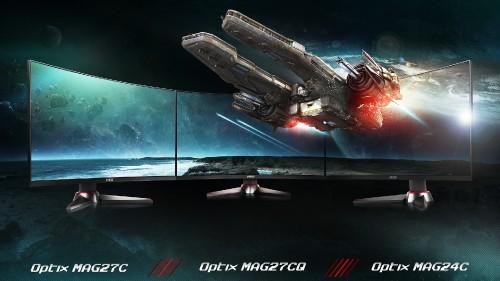Bild: MSI Optix MAG: Gekrümmte Gaming-Bildschirme mit 144 Hz