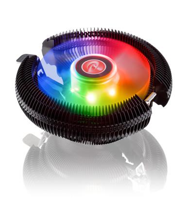 Raijintek JUNO-X: Low-Profile-Kühler mit RGB-Beleuchtung