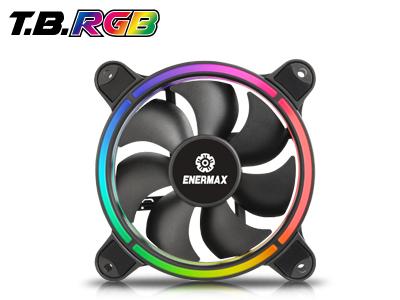 Bild: Enermax T.B. RGB: RGB-Gehäuselüfter mit Twister-Bearing-Technologie
