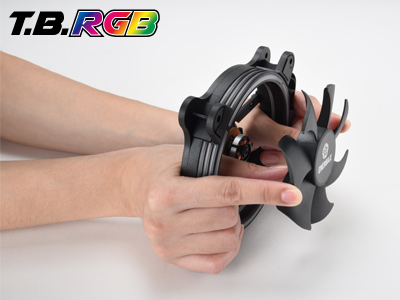Enermax T.B. RGB: RGB-Gehäuselüfter mit Twister-Bearing-Technologie