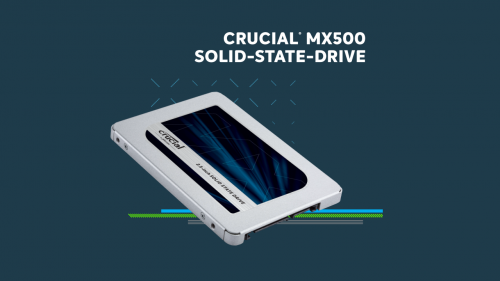 Crucial stellt 2-TB-SSD der MX500-Serie vor