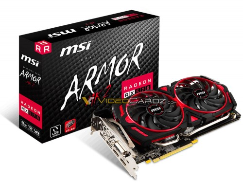 Bild: MSI Radeon RX 570 mit Armor-MK2-Kühler gesichtet