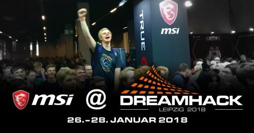 Bild: DreamHack 2018: MSI lädt zum Zocken nach Leipzig ein
