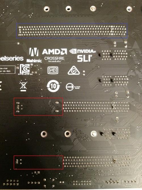 101.-MSI-Z370-Gaming-Pro-Carbon-AC-Ruckseite-fehlende-Befestigungspunkte-PCIe-Slots.jpg