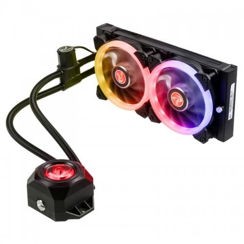 Neue RGB-Wasserkühlungen von Raijintek