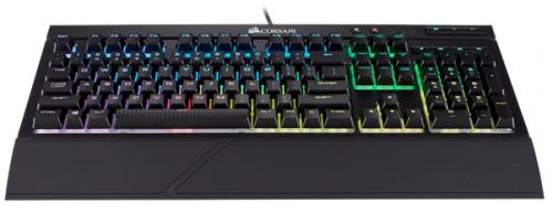 Bild: Corsair K68 RGB Gaming-Tastatur: Tastatur mit Spritzwasserschutz