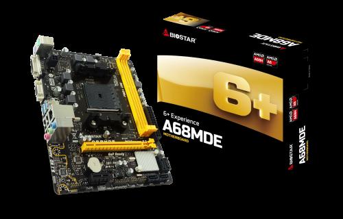 Biostar A68MDE: Neues Mainboard mit Sockel FM2+
