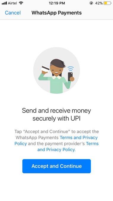 WhatsApp führt Geldtransfer als neue Funktion ein