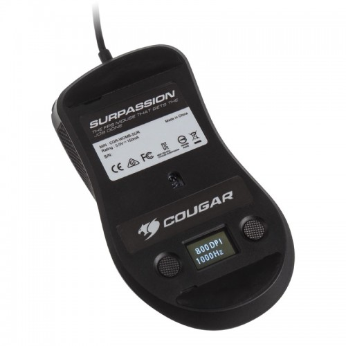 Cougar Surpassion: Gaming-Maus mit PixArt PMW3330