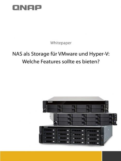 """QNAP veröffentlicht Whitepaper """"NAS als Storage für VMWare"""""""