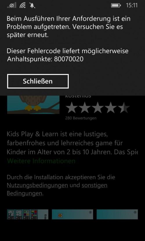 Windows Phone: Microsoft deaktiviert App-Store - Workaround bekannt