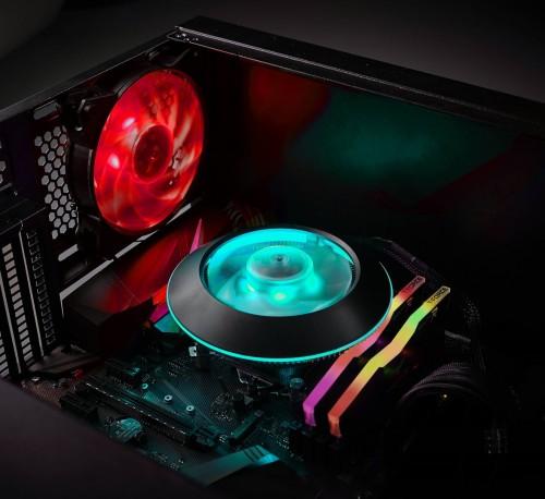 Cooler Master MasterAir G100M: CPU-Kühler im platzsparenden Design mit RGB-Beleuchtung