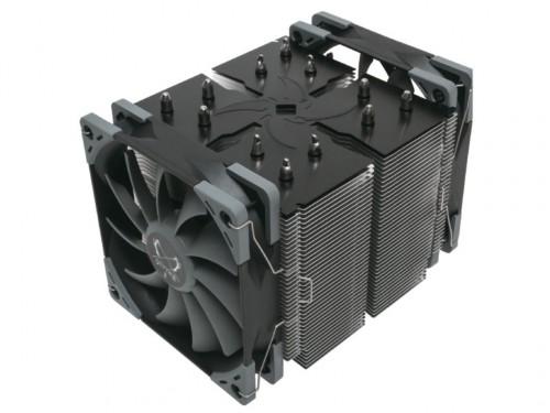 Scythe Ninja 5: Großer Tower-CPU-Kühler mit zwei Lüftern